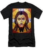 Jesus Christ Mandylion Men's T-Shirt (Athletic Fit)