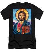 Jesus Christ The Pantocrator I Men's T-Shirt (Athletic Fit)