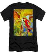 Jungle Flame Men's T-Shirt (Athletic Fit)