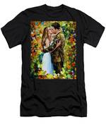 Kiss In The Woods Men's T-Shirt (Athletic Fit)