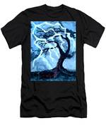 Lightning Tree Men's T-Shirt (Athletic Fit)