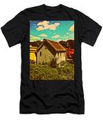 Little House - The World Around New York City Men's T-Shirt (Athletic Fit)