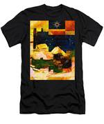Living In The Global Village Men's T-Shirt (Athletic Fit)