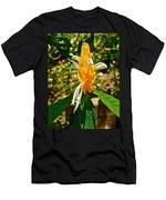 Lollipop Flower In Quepos-costa Rica Men's T-Shirt (Athletic Fit)