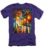 Loneliness Of Autumn Men's T-Shirt (Athletic Fit)