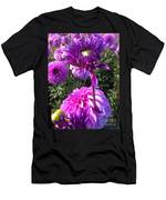 Look At Me Dahlia Flower Men's T-Shirt (Athletic Fit)