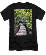 Love Builds Bridges Where There Are None Men's T-Shirt (Athletic Fit)