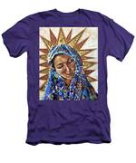 Madonna Of The Dispossessed Men's T-Shirt (Athletic Fit)