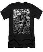 Magnolias In White Men's T-Shirt (Athletic Fit)