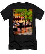 Reflections - New York City In The Rain Men's T-Shirt (Athletic Fit)