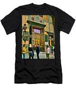 Marble Of Many Colors In Saint Sophia's In Istanbul-turkey Men's T-Shirt (Athletic Fit)