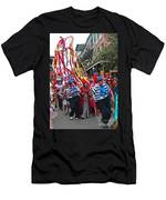 Mardi Gras In New Orleans Men's T-Shirt (Athletic Fit)