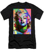 Marilyn Monroe - Abstract 1 Men's T-Shirt (Athletic Fit)