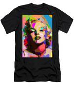 Marilyn Monroe - Abstract Men's T-Shirt (Athletic Fit)