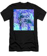 Marilyn Monroe Out Of The Blue Men's T-Shirt (Athletic Fit)
