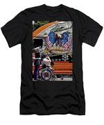 Marine And Wounded Warrior Men's T-Shirt (Athletic Fit)