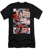 Martin Brodeur Collage Men's T-Shirt (Athletic Fit)