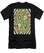 Mask 10 Curled Up Men's T-Shirt (Athletic Fit)