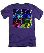 Max Two Stars In Pf Quad Colors Men's T-Shirt (Athletic Fit)