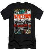 May Day 2012 Poster Calling For Revolution Men's T-Shirt (Athletic Fit)