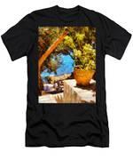 Mediterranean Steps Men's T-Shirt (Athletic Fit)