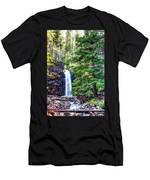 Memorial Falls In Montana Men's T-Shirt (Athletic Fit)