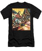 Men Of The Jolly Roger Men's T-Shirt (Athletic Fit)