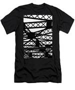 Metal Structure Men's T-Shirt (Athletic Fit)