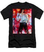 Michael Jackson I'll Be There Men's T-Shirt (Athletic Fit)