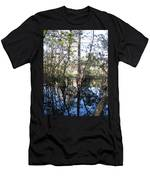 Mirroring The Swamp Men's T-Shirt (Athletic Fit)