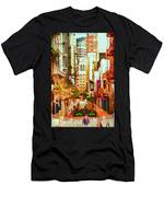 Mocca On Maiden Lane Men's T-Shirt (Athletic Fit)