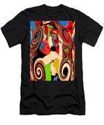 Mom's Venetian Glass Vase 17 Men's T-Shirt (Athletic Fit)