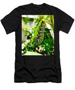 Monarch Caterpillar 5 Men's T-Shirt (Athletic Fit)