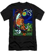 Moon In Tree Men's T-Shirt (Athletic Fit)
