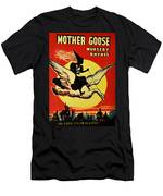 Mother Goose Men's T-Shirt (Athletic Fit)