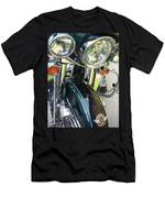 Motorcyle Classic Headlight Men's T-Shirt (Athletic Fit)