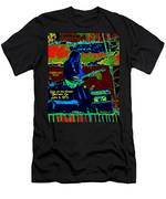 Mrdog # 71 Psychedelically Enhanced W/text Men's T-Shirt (Athletic Fit)