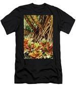 Multicolored Codiaeum Men's T-Shirt (Athletic Fit)