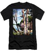 Muskoka Reflections Men's T-Shirt (Athletic Fit)
