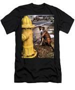My Friend Plug Men's T-Shirt (Athletic Fit)