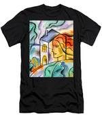 My House Men's T-Shirt (Athletic Fit)