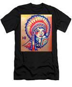 Native Girl Men's T-Shirt (Athletic Fit)