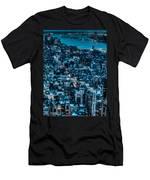 New York City Triptych Part 3 Men's T-Shirt (Athletic Fit)