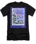 Christmas Card 28 Men's T-Shirt (Athletic Fit)