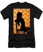 Nude On Chair Color Men's T-Shirt (Athletic Fit)