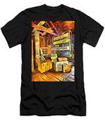 Old Baggage Claim Men's T-Shirt (Athletic Fit)