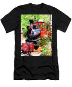 Old West Locomotive 2 Men's T-Shirt (Athletic Fit)