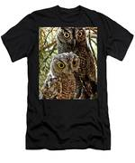 Owls From Amado Arizona Men's T-Shirt (Athletic Fit)