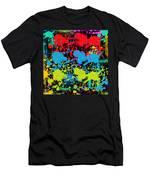 Paint Splatter - Black Men's T-Shirt (Athletic Fit)