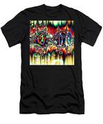 Carnival Dancers Men's T-Shirt (Athletic Fit)